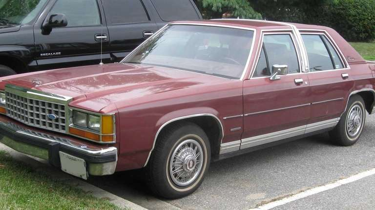 A 1980s model of the Ford LTD Crown