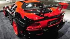 The 2010 Dodge Viper is featured at the