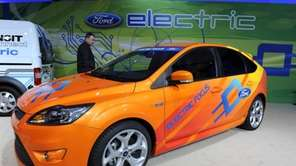 The Ford Focus Electric car is scheduled to