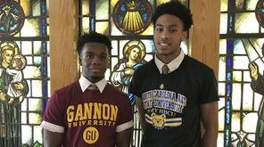 Jon Harewood (left) and Tyrone Lyons Jr. (right).