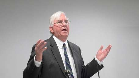 Suffolk County Comptroller John M. Kennedy Jr., seen