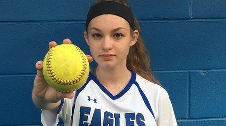 Hauppauge senior pitcher Molly Delaney is Newsday's Athlete