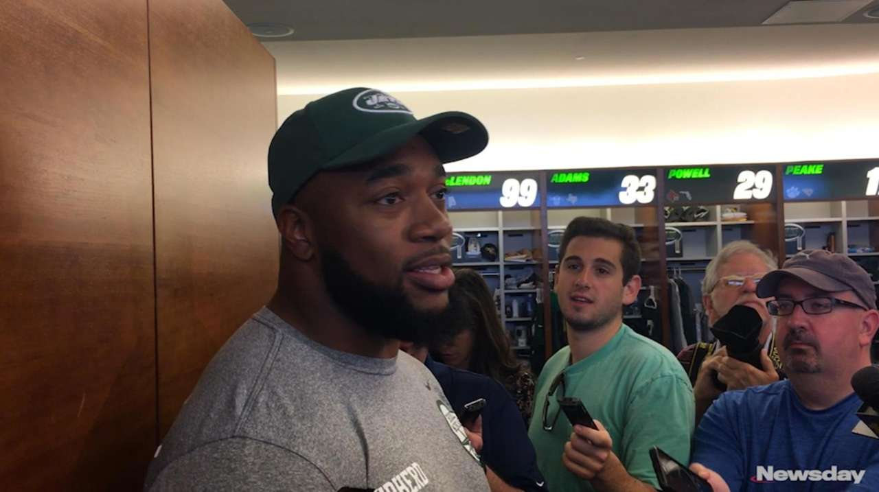 Nathan Shepherd, a third-round pick of the Jets,