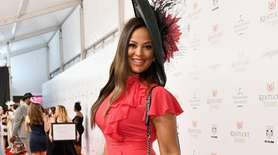 Professional boxer Laila Ali attends Kentucky Derby 144