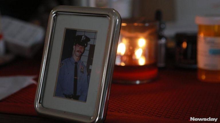 Retired NYPD Officer Scott Blackshaw who served a