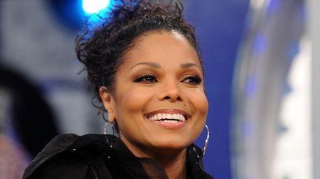 Singer Janet Jackson visits BET's 106 & Park