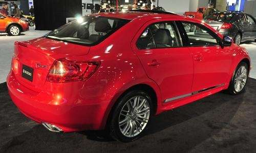 Subaru Kizashi at the New York Auto Show.