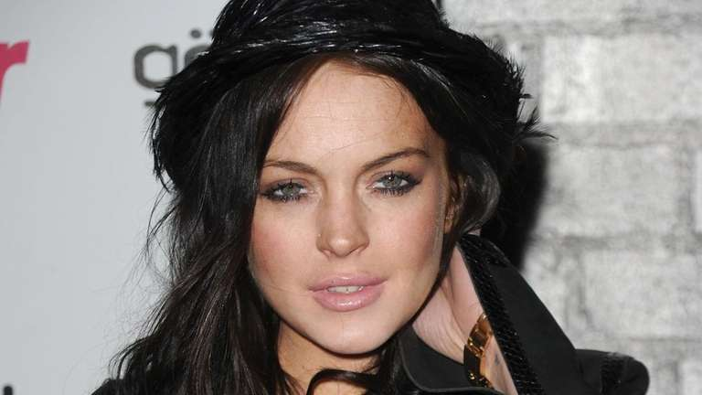 Actress Lindsay Lohan in 2010.