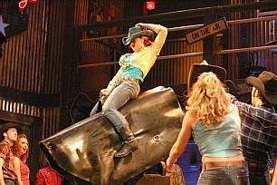 Riding the mechanical bull in