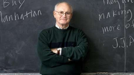 Edwin G. Burrows, a retired history professor, died