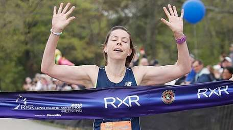 Aileen Barry of Manhasset takes first place in