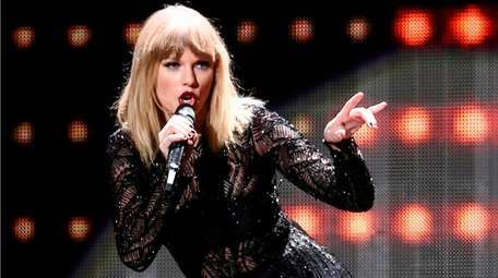 Taylor Swift performs in Houston on Feb. 4,