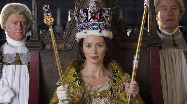 Emily Blunt portrays Queen Victoria in
