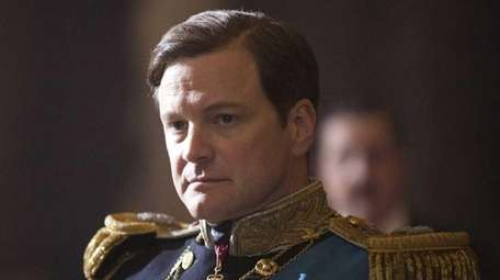 Colin Firth stars as King George VI, who
