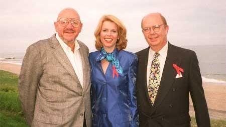 Jerry Della Femina, Betsy McCaughey Ross and her
