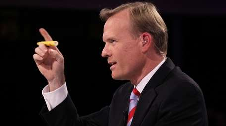 John Dickerson is noted for asking penetrating questions