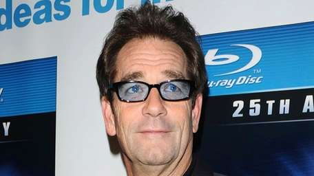 "Huey Lewis attends the ""Back To The Future"""