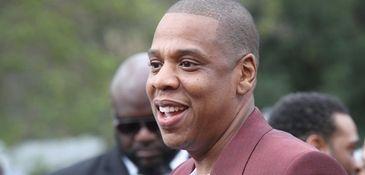 Jay-Z attends the 2017 Roc Nation pre-Grammy brunch