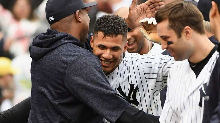 New York Yankees second baseman Gleyber Torres