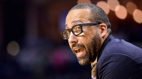 The Knicks make the hiring of David Fizdale