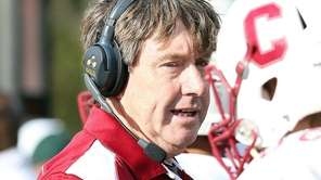 Clarke head coach John Boyle stands on the
