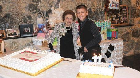 Kidsday reporter Jason Veletanga celebrates a shared birthday