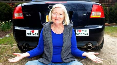 Springs resident Loring Bolger said she's fine with