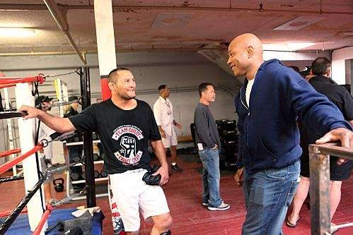 Dan Henderson and LL Cool J on the
