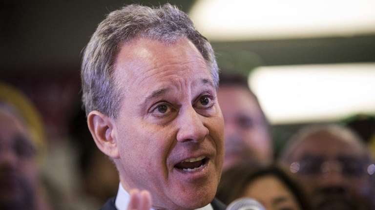 New York Attorney General Eric T. Schneiderman, seen