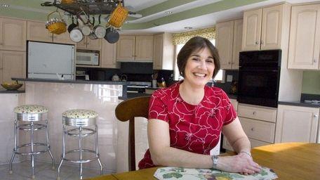 Teresa Nankervis in the kitchen in her Center