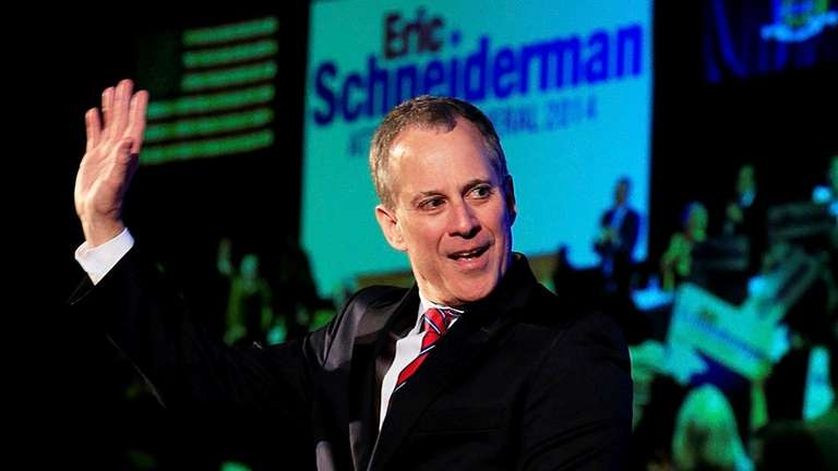 State Attorney General Eric T. Schneiderman in 2014.