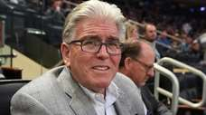 Mike Francesa at Madison Square Garden on March