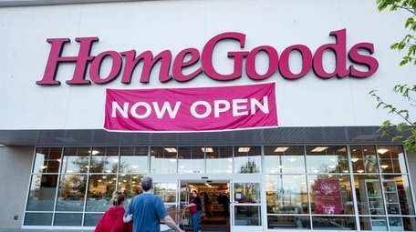 A new HomeGoods store has opened in Melville.