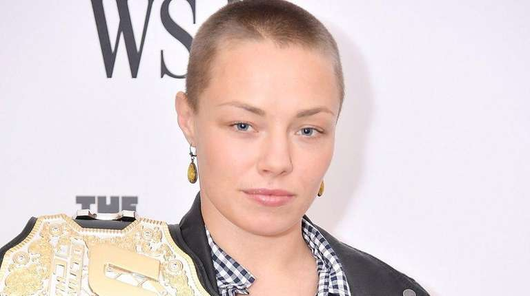 UFC athlete and champion Rose Namajunas attends WSJ's