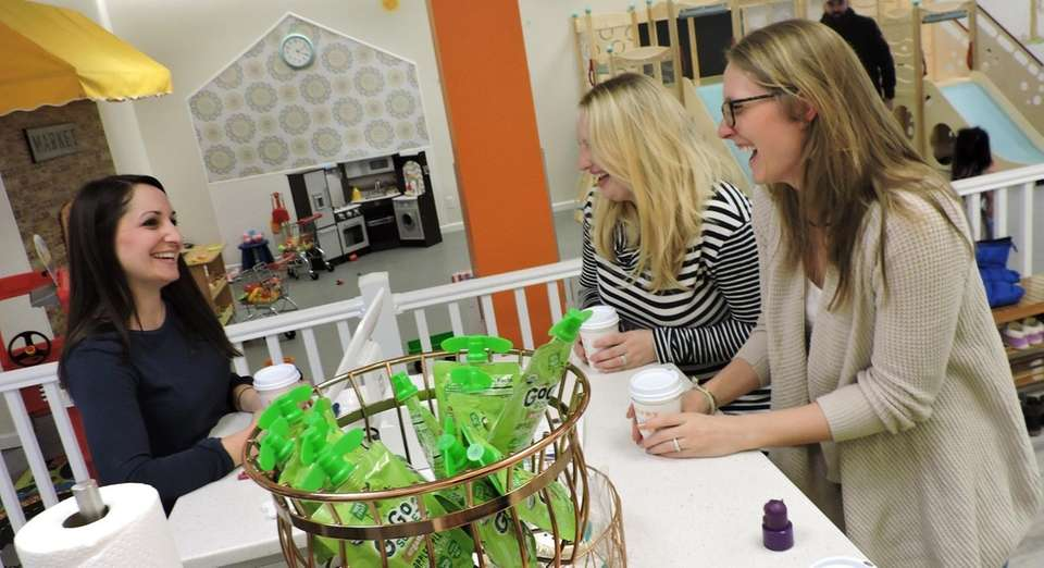 Danielle Bracco of Merrick, owner of Sippy Cups