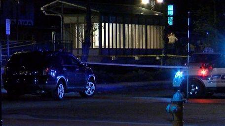 Metropolitan Transportation Authority police respond to the Long
