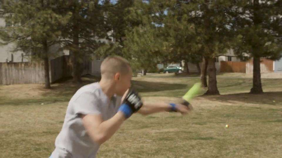 In the clip from the UFC 223