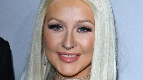Christina Aguilera at the Baby2Baby Gala in Culver