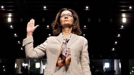 Gina Haspel, director of the Central Intelligence Agency