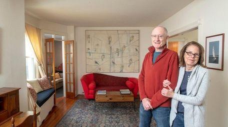 Bob and Susan Werber at their Port Washington
