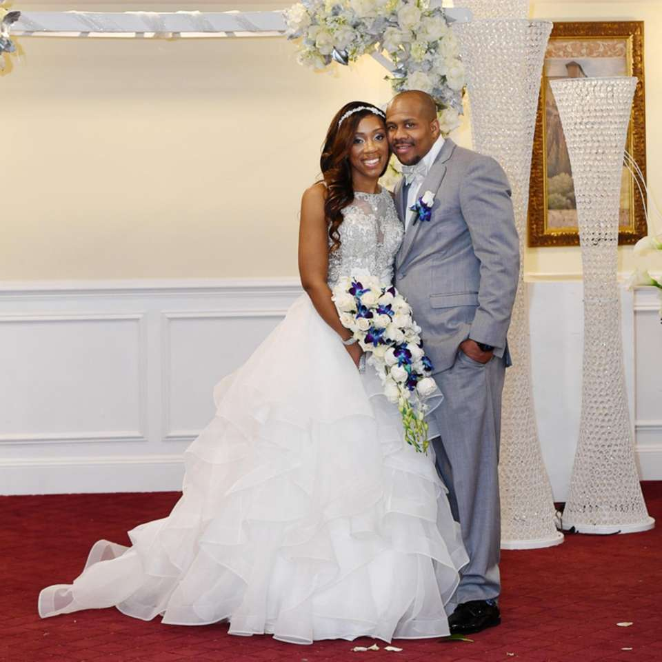 Mr. & Mrs. John Bell IV; Wedding date