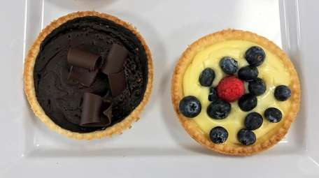 Tartlets at Mademoiselle Patisserie, now open in Patchogue.