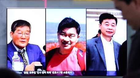 Portraits of the three Americans -- Kim Dong