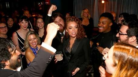 Comedian Michelle Wolf attends a party after the