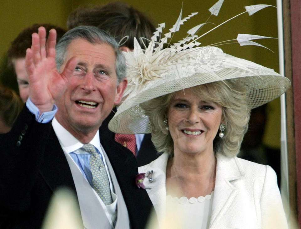 Prince Charles and his wife, Camilla, the Duchess