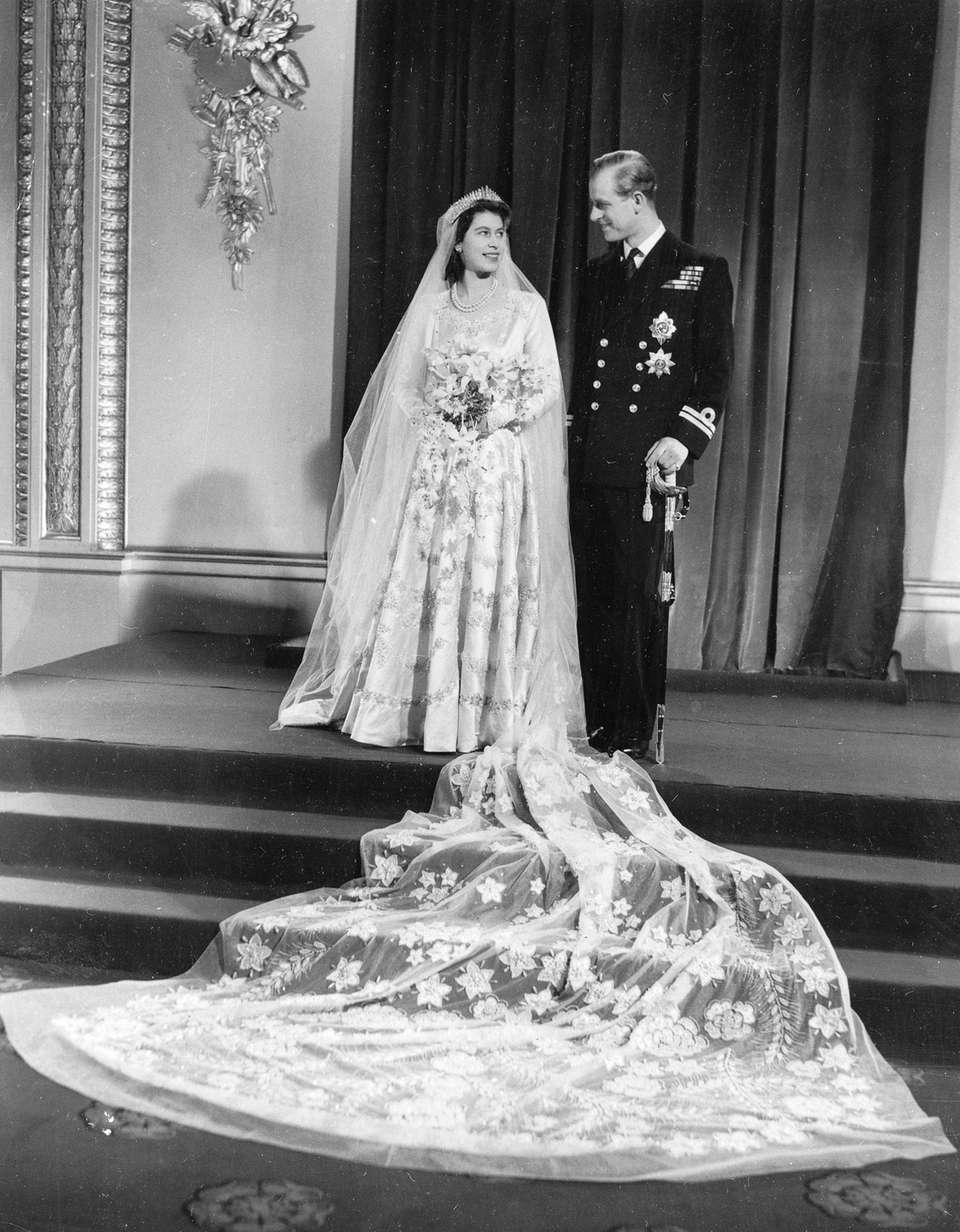 Princess Elizabeth and Prince Philip, Duke of Edinburgh,
