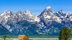 Historic Mormon Row, Grand Teton National PaHistoric Mormon