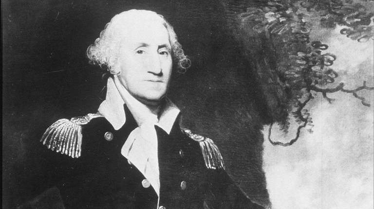 George Washington in an undated portrait.