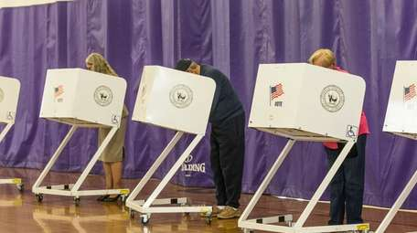 Voters turn out for school board elections on