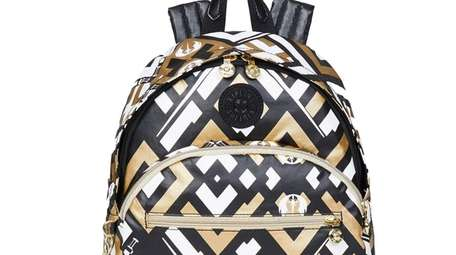 """The just-launched Kipling """"Star Wars"""" collection of backpacks,"""